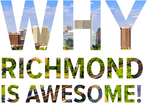 WhyRichmondIsAwesome.com | Why Richmond Is Awesome, Website
